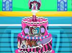 Jogos das monster high: Bolo de Anivers�rio Monster High