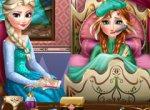 Frozen Anna Doente