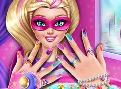 Barbie Super Princesa Unhas Decoradas 2