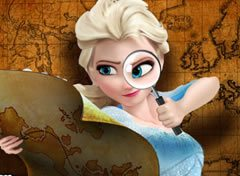 Frozen Elsa Fuga do Labirinto