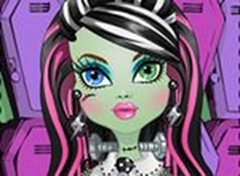 Penteados da Monster High Frankie Stein
