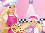 Jogos da barbie: Pizzaria da Barbie